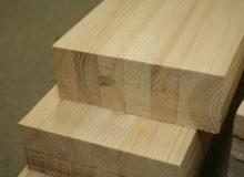 Drewno klejone wzdłużnie BSH